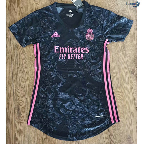 Peamu - Maillot foot Real Madrid Femme Exterieur 2020-2021
