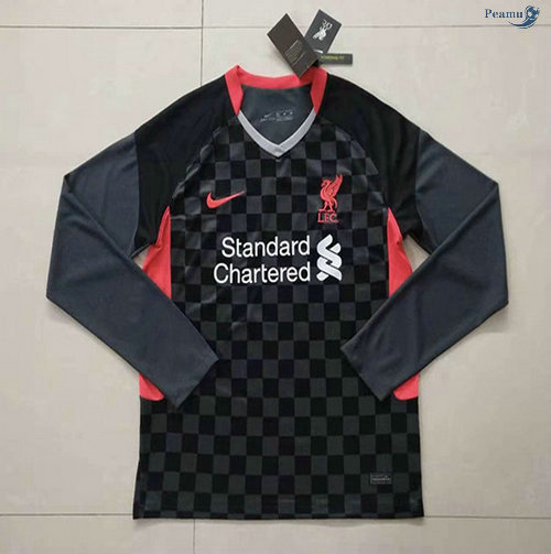 Peamu - Maillot foot Liverpool Third Manche Longue 2020-2021