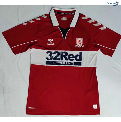 Peamu - Maillot foot Middlesbrough Domicile 2020-2021