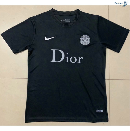Peamu - Maillot foot PSG Paris Dior cooperation 2020-2021