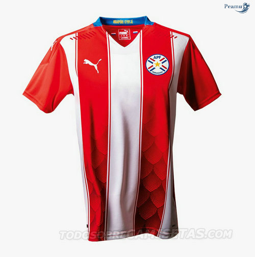 Peamu - Maillot foot Paraguay Domicile 2020-2021