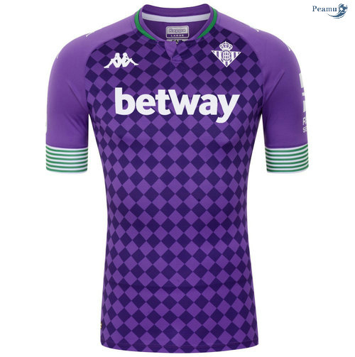 Peamu - Maillot foot Real Betis Exterieur 2020-2021
