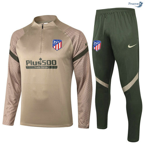 Peamu - Survetement Atletico Madrid Kaki 2020-2021