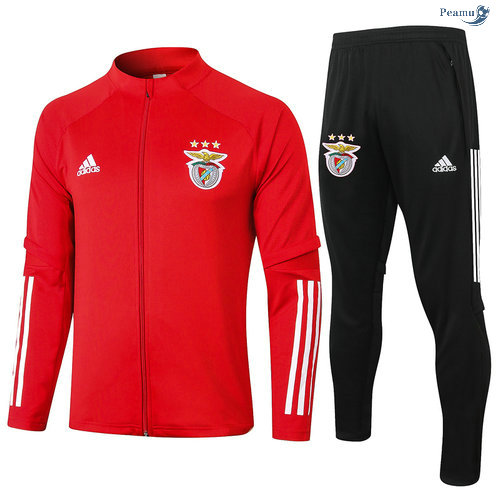 Peamu - Veste Survetement Benfica Rouge 2020-2021