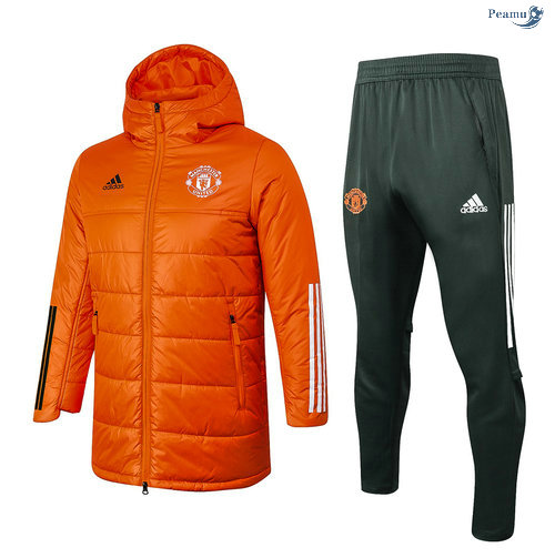 Peamu - Doudoune Manchester United Orange 2020-2021