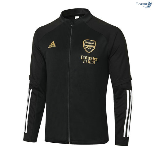 Peamu - Veste foot Arsenal Noir 2020-2021