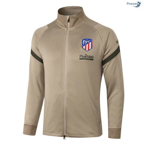 Peamu - Veste foot Atletico Madrid Kaki 2020-2021