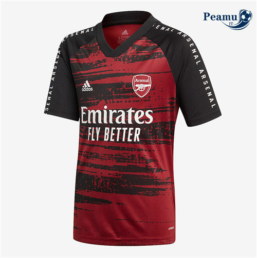 Maillot foot Arsenal training Rouge 2020-2021