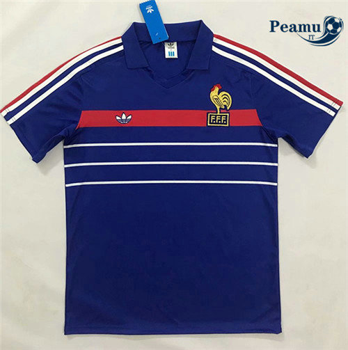 Maillot foot France Domicile European Champions 1984-1986