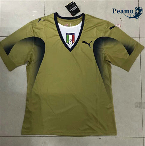 Maillot foot Italie Or Portiere 2006