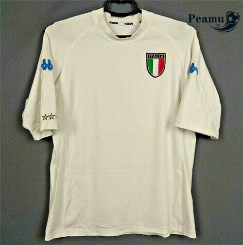 Maillot foot Italie Exterieur Blanc 2000