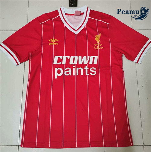 Maillot foot Liverpool Domicile Champions League 1981-84