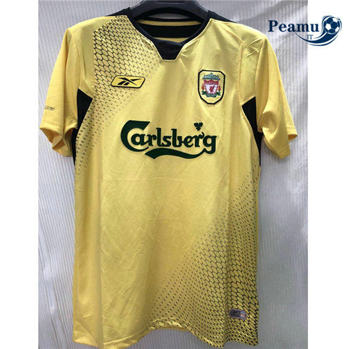Maillot foot Liverpool Jaune 2004-05