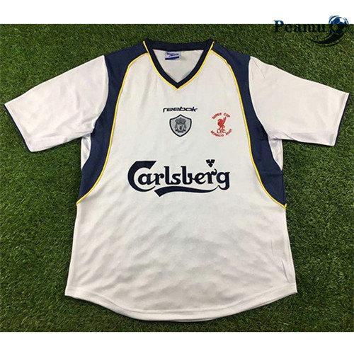 Maillot foot Liverpool Exterieur 2001