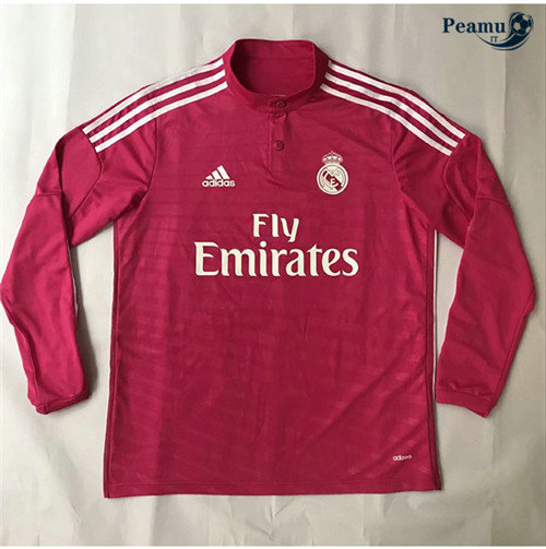 Maillot foot Real Madrid Exterieur Manche Longue 2014-15