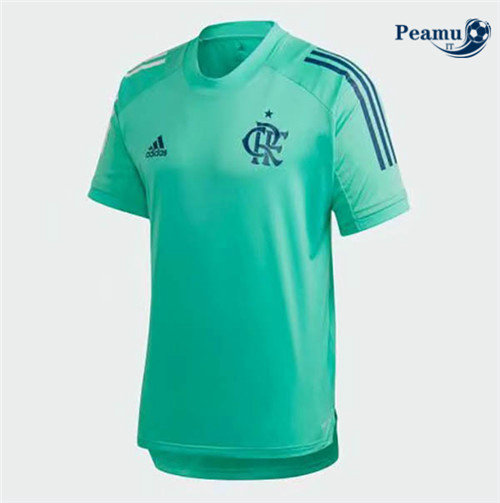 Maillot foot Flamengo training Verde 2020-2021