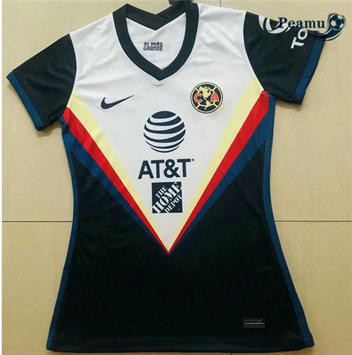 Maillot foot CF America Femme 2020-2021