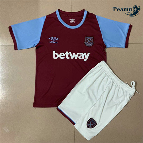 Maillot foot West Ham United Enfant Domicile 2020-2021