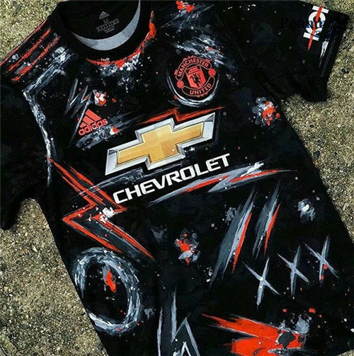 Maillot foot Manchester United Special Edition Noir 2020-2021