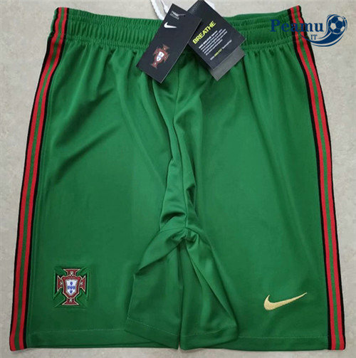 Short da calcio Portugal Verde 2020-2021