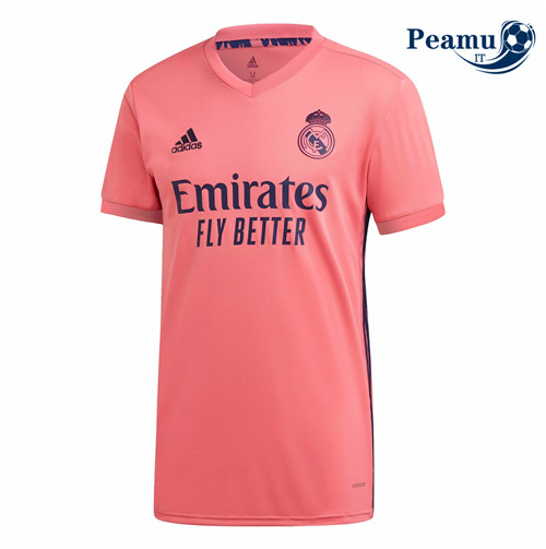 Maillot foot Real Madrid Exterieur Orange 2020-2021
