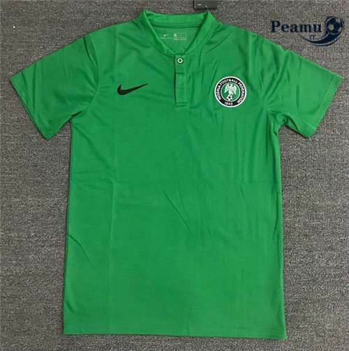 Maillot foot Nigeria polo Verde 2020-2021