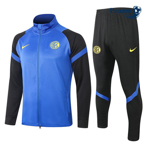 Veste Survetement Inter Milan Bleu Marine 2020-2021