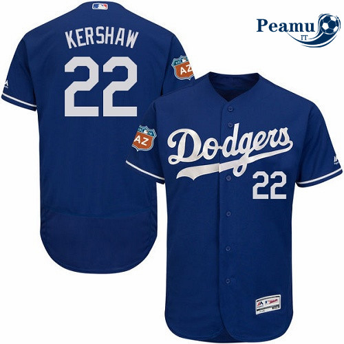 Peamu - Clayton Kershaw, Los Angeles Dodgers - Bleu