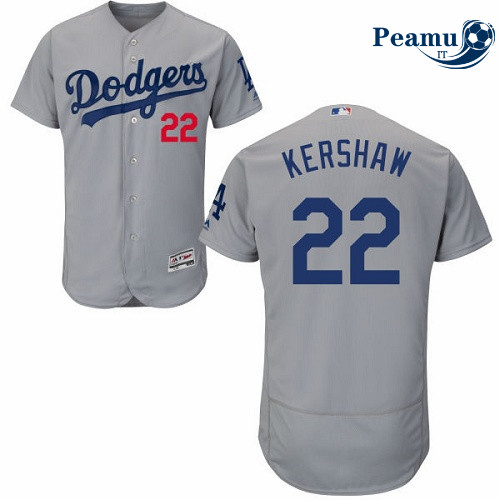 Peamu - Clayton Kershaw, Los Angeles Dodgers - Gris