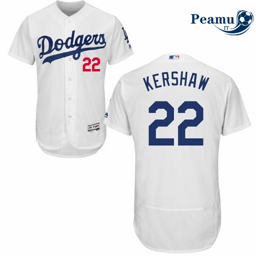 Peamu - Clayton Kershaw, Los Angeles Dodgers - Blanc