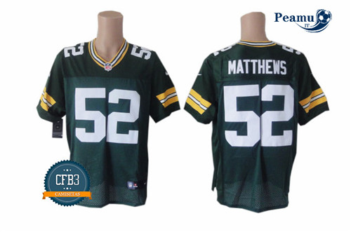 Peamu - Clay Matthews III, Verde Bay Packers