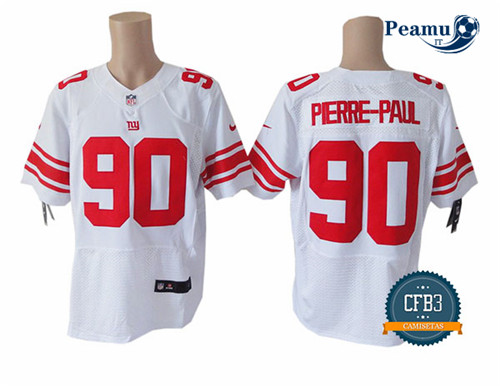 Peamu - Jason Pierre-Paul, NY Giants - Blanc/Rouge