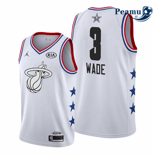 Peamu - Dwyane Wade - 2019 All-Star Blanc