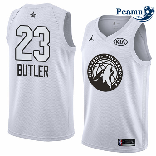 Peamu - Jimmy Butler - 2018 All-Star Blanc