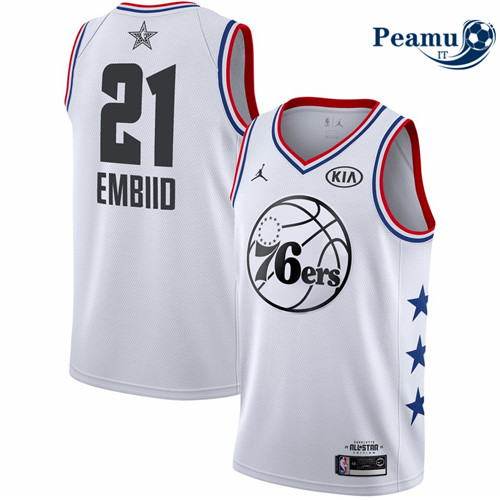 Peamu - Joel Embiid - 2019 All-Star Blanc