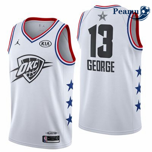 Peamu - Paul George - 2019 All-Star Blanc