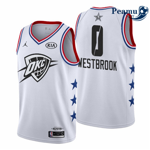 Peamu - Russell Westbrook - 2019 All-Star Blanc