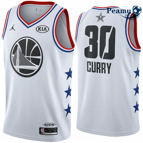 Peamu - Stephen Curry - 2019 All-Star Blanc