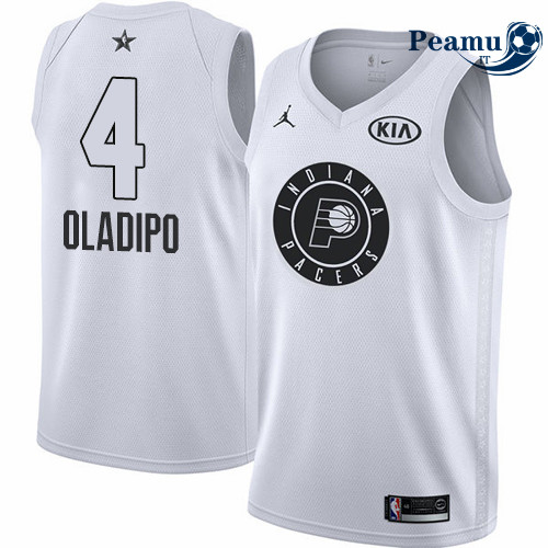 Peamu - Victor Oladipo - 2018 All-Star Blanc