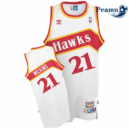Peamu - Dominique Wilkins, Atlanta Hawks [Home]