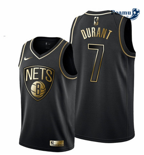 Peamu - Kevin Durant, Brooklyn Nets - Noir/Or