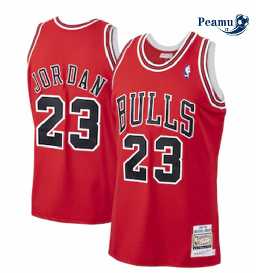 Peamu - Michael Jordan, Chicago Bulls Mitchell & Ness - Rouge