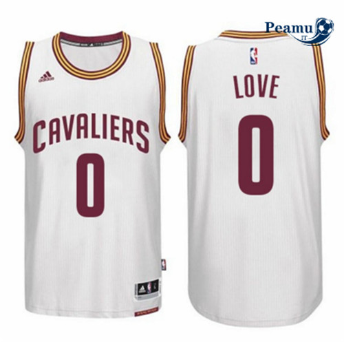 Peamu - Kevin Love, Cleveland Cavaliers - Blanc