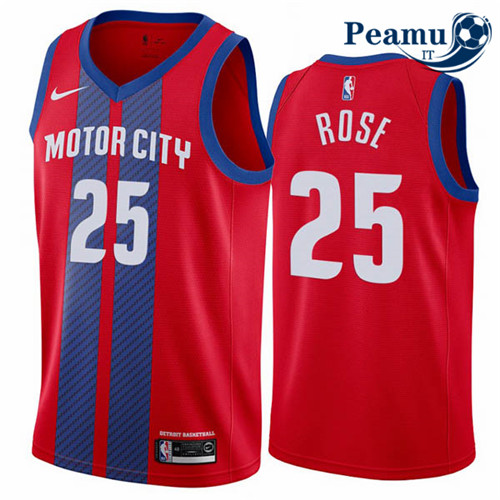Peamu - Derrick Rose, Detroit Pistons 2019/20 - City Edition