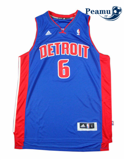 Peamu - Josh Smith, Detroit Pistons - Azul
