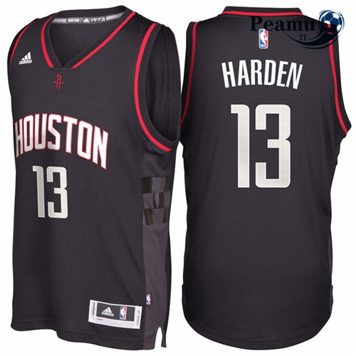 Peamu - James Harden, Houston Rockets - Noir Space City
