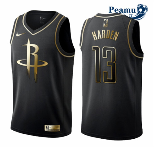 Peamu - James Harden, Houston Rockets - Noir/Or