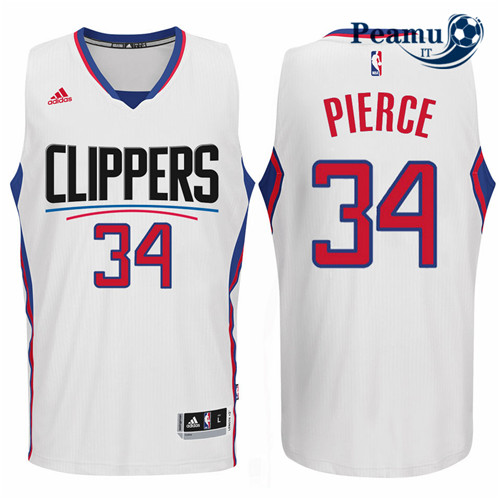 Peamu - Chris Paul, Los Angeles Clippers 2015 - Blanc