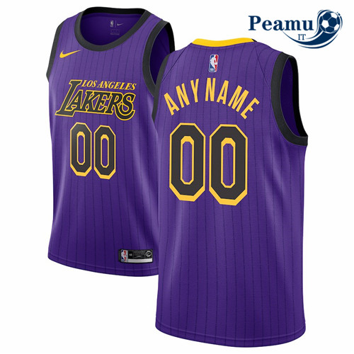 Peamu - Custom, Los Angeles Lakers 2018/19 - City Edition