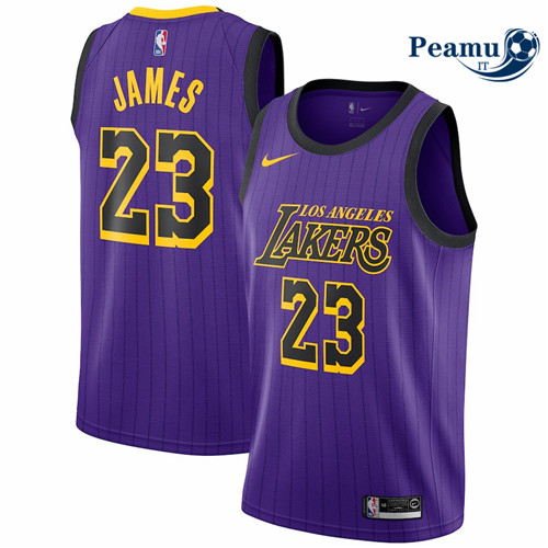Peamu - LeBron James, Los Angeles Lakers 2018/19 - City Edition